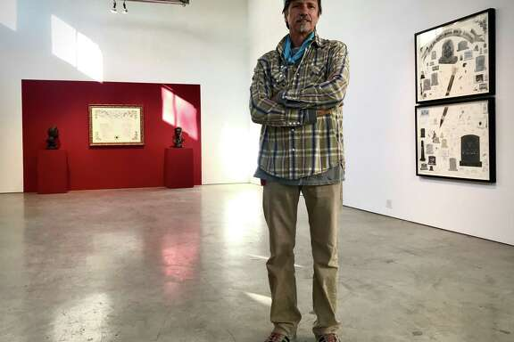 Jack Massing has curated a special show of works he and the late Michael Galbreth created on the theme of death for Galbreth's memorial from 2-6 p.m. Jan. 25 at the Art Guys Studio.