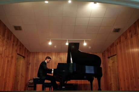 The Gurwitz San Antonio International Piano Competition will showcase some of the best young pianists in the world. In 2006, Josh Dowling performs in a previous competition.