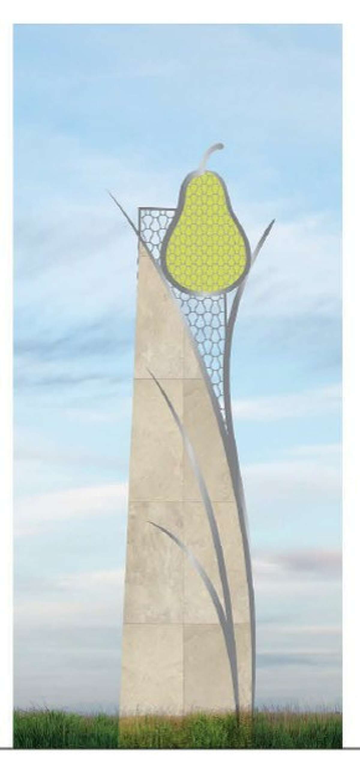 The Pearland Economic Development Corp. will erect eight large marker signs, complete with a pear logo, on either side of the Texas 288 within the city.