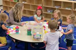 Students participate in activities at Tomball ISD's Early Excellence Academy. The program is to provide childcare for Tomball iSD students for children ages 2 to 5.
