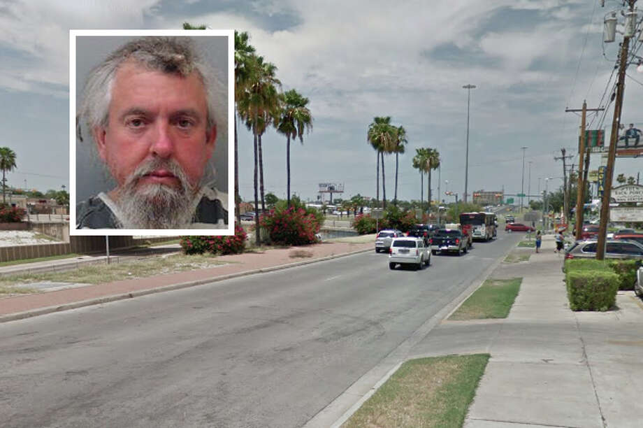 A vagrant punched and broke a side mirror to a vehicle because the driver did not give him money, according to Laredo police. Photo: Courtesy