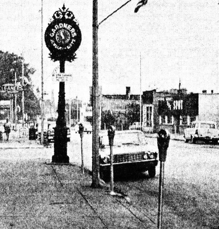 In the 1960s it was common to see parking meters located in downtown Manistee as people had to pay a small fee to park there or face getting a parking ticket.