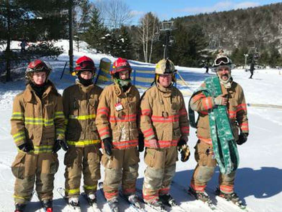 Barkhamsted's firefighters, pictured above, are an important part of the town's emergency response system. First Selectman Don Stein recently held an emergency management volunteer meeting to be sure residents are involved, to assist in town emergencies such as power outages. Photo: Pleasant Valley Fire / Contributed Photo /