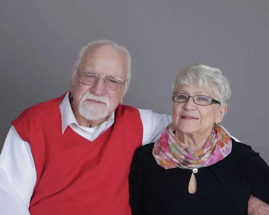 Arthur and Gloria Anderson, of West Redding, celebrated their 70th wedding anniversary on Dec. 10. Photo: / Contributed Photo