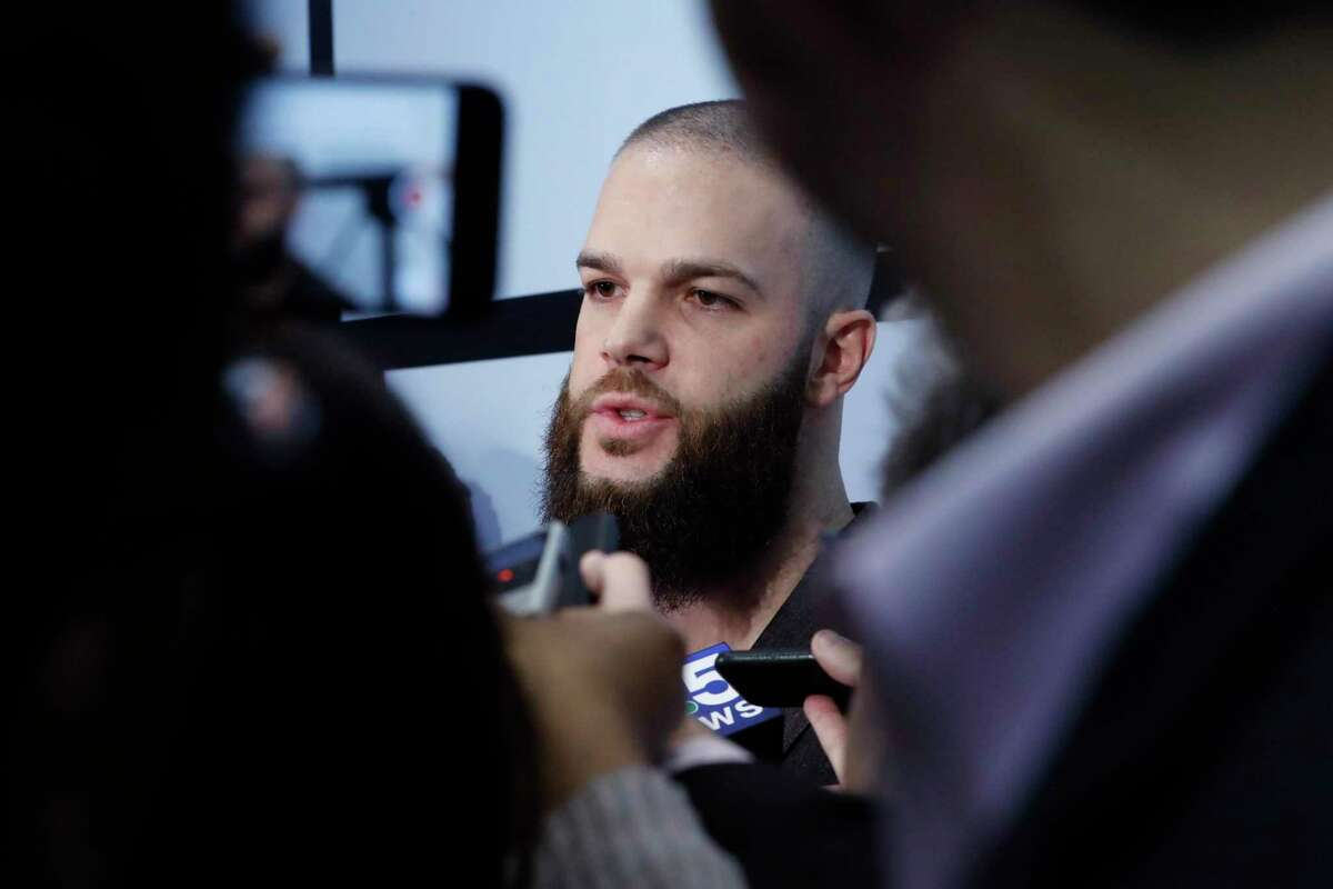 Former Astros pitcher Dallas Keuchel, at the White Sox annual fan convention on Friday, acknowledged what the Astros did in 2017 with electronic sign stealing was wrong.