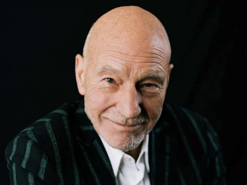 Patrick Stewart, who is set to return to the role of Jean-Luc Picard for the first time since 2002 for CBS All Access, in New York, Oct. 5, 2019. Stewart, 79, said it was appropriate that Picard should change over time, just as the actor himself has. a€œIa€™m still Patrick inside this guy, and yes, there are noticeable differences from how I was 19 years ago,a€ he said. (Mark Sommerfeld/The New York Times)