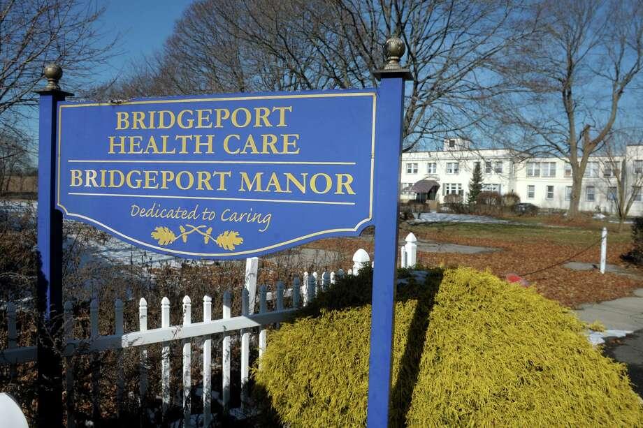 Bridgeport Health Care's Bridgeport Manor, in Bridgeport, Conn. Photo: Ned Gerard / Hearst Connecticut Media / Connecticut Post