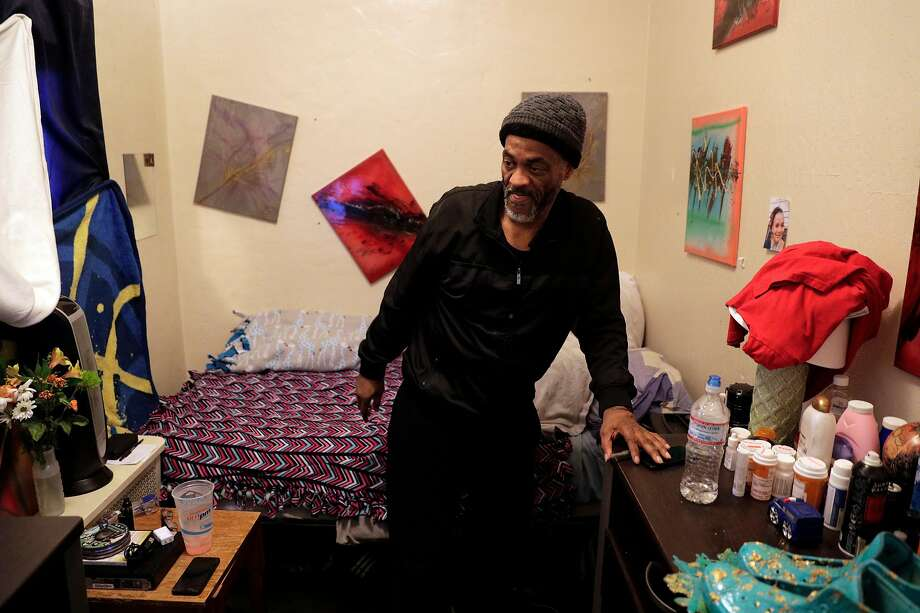 Peter Laimont of Oakland will move into stable housing with the help of Bay Area Community Services and All Home. Photo: Photos By Carlos Avila Gonzalez / The Chronicle