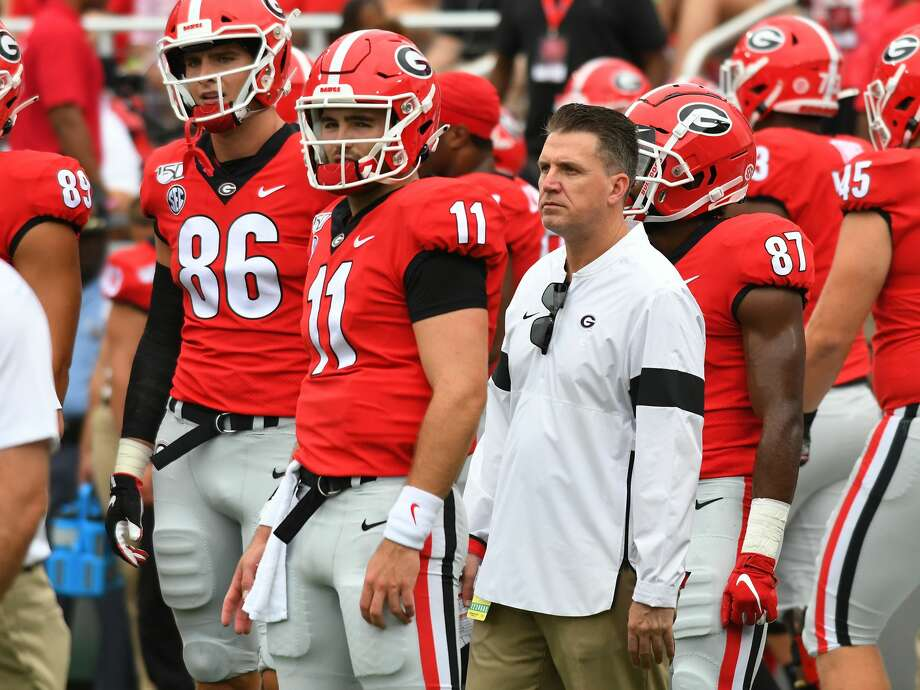 After serving as Georgia's offensive coordinator, James Coley is heading to Texas A&M to coach tight ends. Photo: Jeffrey Vest / Icon Sportswire Via Getty Images