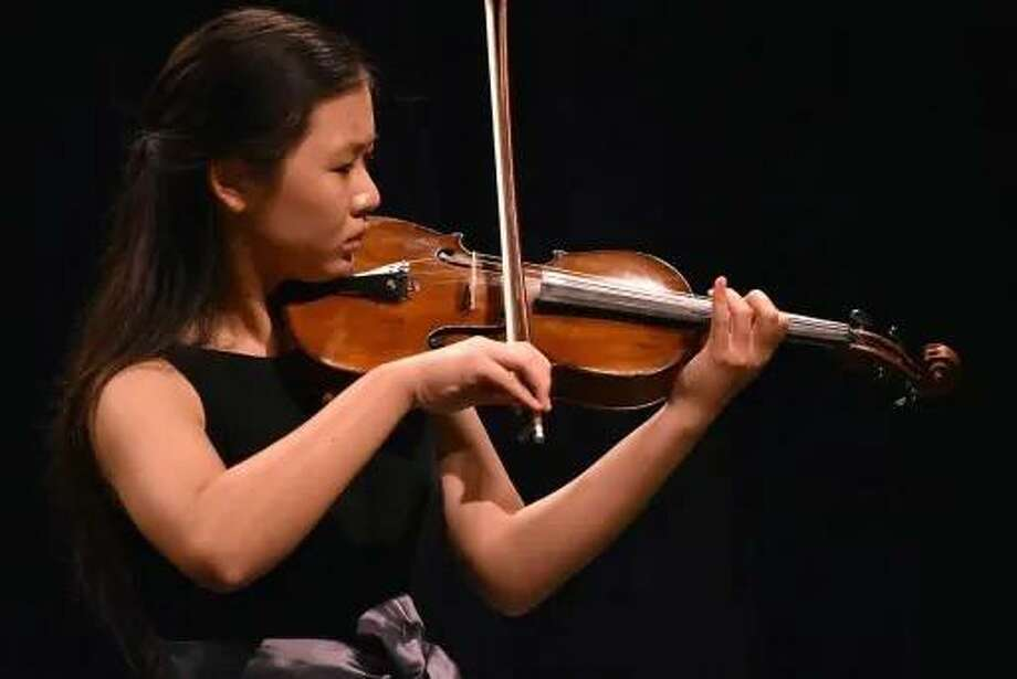Catherine Wu is a senior at Stratford High School. She was recently named all-state for violin, her fourth year earning the honor. Photo: Spring Branch ISD