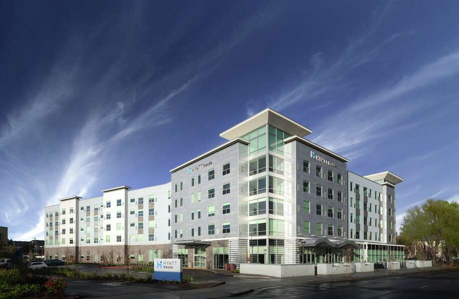 A brand new Hyatt House hotel just opened by Mineta San Jose International Airport Photo: Hyatt Hotels