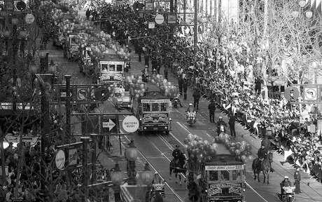 49ers Super Bowl Parade down Market Street, January 23, 1989  49ers_superquiz0202