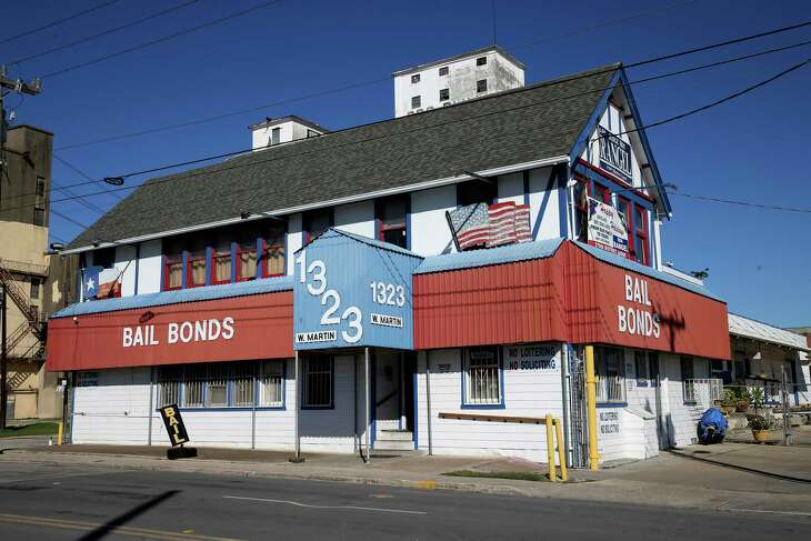 A view of Rangel's Bail Bonds at 1323 West Martin Street, Thursday, Jan. 23, 2020. The company is owned by Judge Ron Rangel's family.