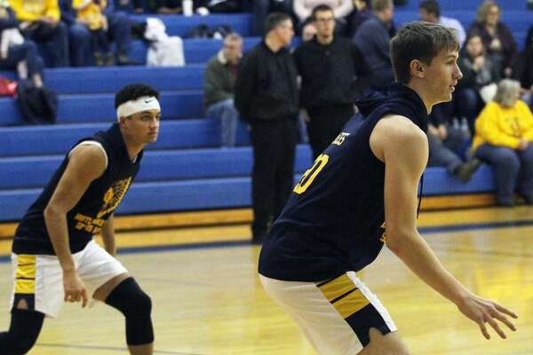 The North Huron boys basketball team basketball team moved to 4-6 on the season with a 75-57 win over Akron-Fairgrove on Friday night.