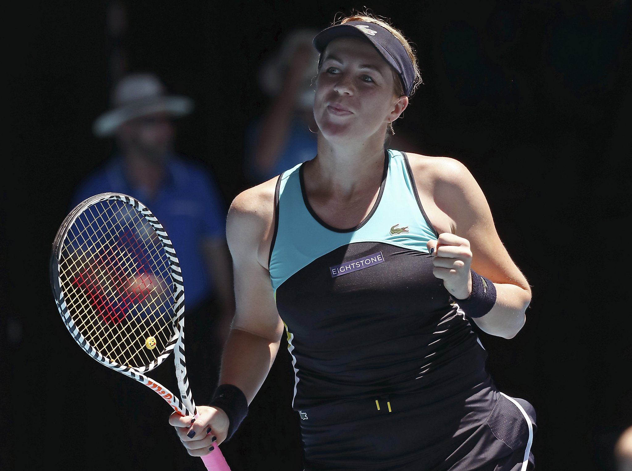 Simona Halep And Angelique Kerber Advance Karolina