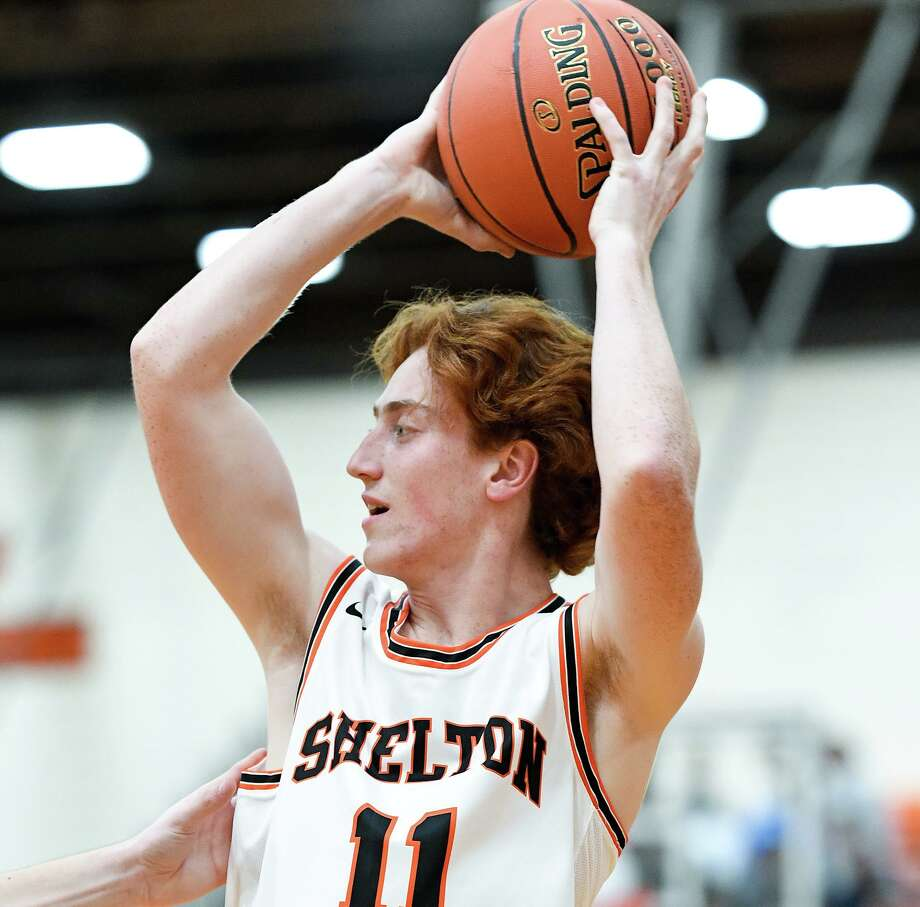 Mike Callinan made a pair of plays down the stretch to give Shelton a victory. Photo: David G Whitham / For Hearst Connecticut Media / Copyriqht 2020 David G. Whitham, All rights reserved.