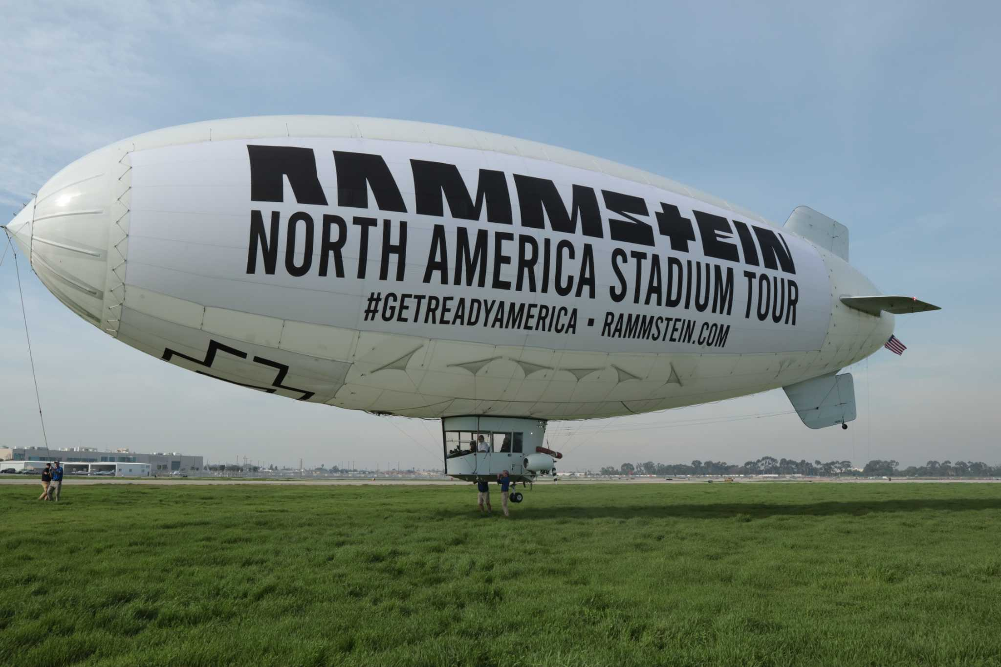 Rammstein Promotes North American Stadium Tour With A