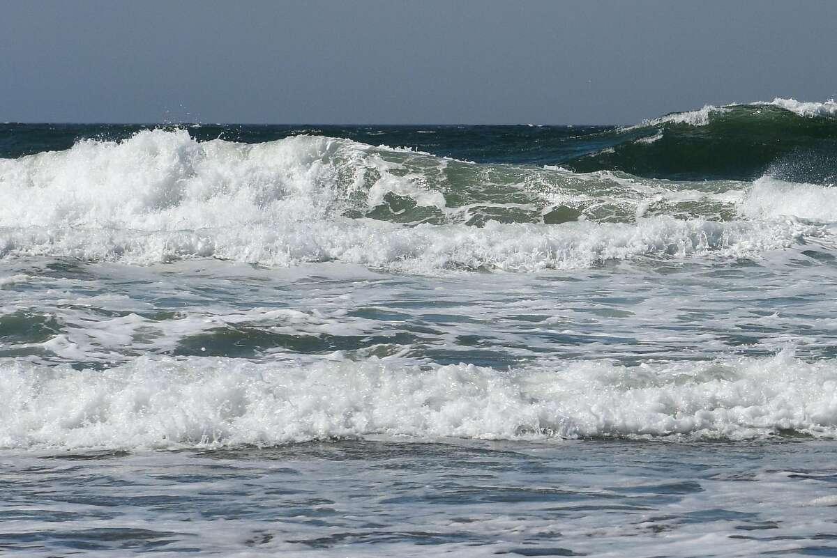 The Pacific Ocean at Ocean Beach on September 26, 2019 in San Francisco, Calif.