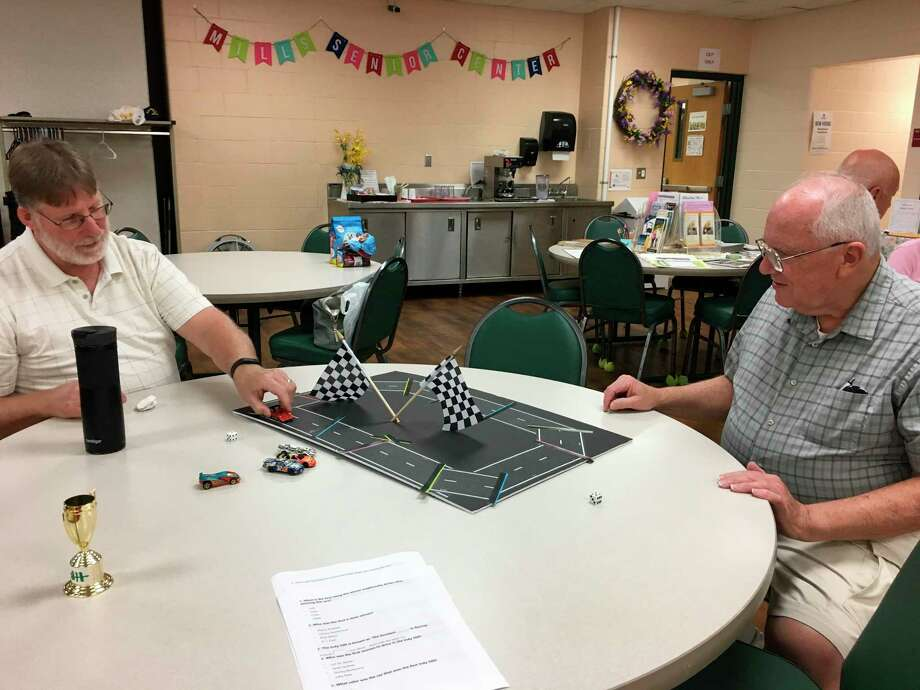 Seniors enjoying the many opportunities to engage at the Senior Services Center. (Provided photo)
