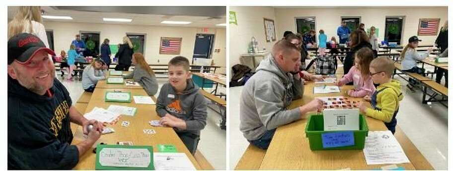 Those who attended STEAM night were able to participate in a plethora of activities run by several Hemlock Public School District staff members and parent volunteers.(Photos provided)