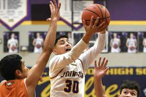 Ramon Anguiano scored 12 points in LBJ's 101-85 win over Eagle Pass on Friday.