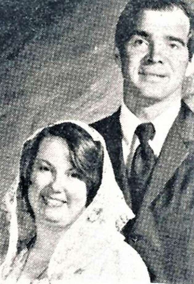 Richard and Irene Denother at their wedding