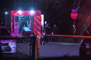San Antonio police are searching for a person they say shot and killed a man following an argument early Saturday, Jan. 25, 2019, on the West Side.