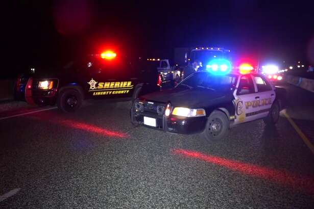 A woman is facing charges after the pick-up she was driving in the wrong direction on U.S. 59 around 2 a.m. Saturday collided with an 18-wheeler in Cleveland.