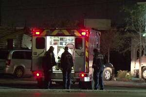A man waiting in line at a taco truck was shot in the thigh and robbed early Saturday morning in Houston.