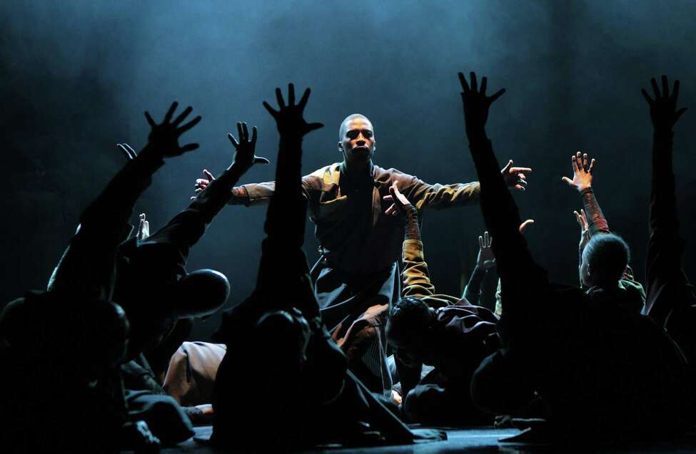 Cion of Maqoma's Vuyani Dance Theater in the Joburg Theatre in Johannesburg.