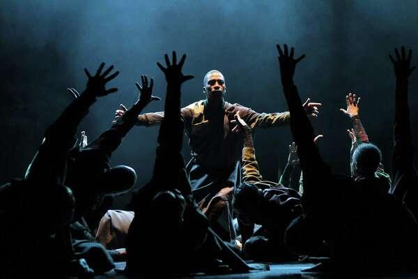 Cion of Maqoma's Vuyani Dance Theater in the Joburg Theatre in Johannesburg.