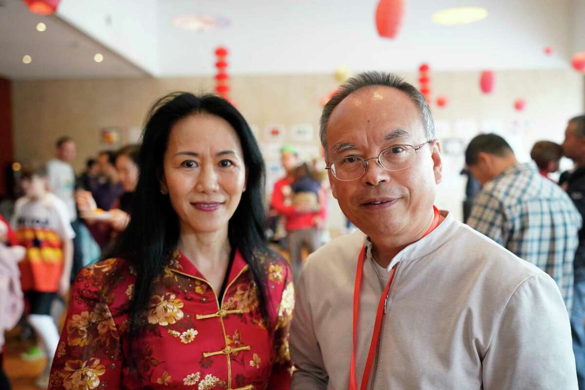 People attend the Lunar New Year Family Day event at the Asia Society Texas Center, 1370 Southmore Blvd., Saturday, Jan. 25, 2020, in Houston.
