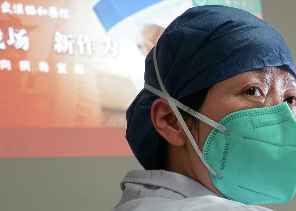 This is Zhou Qiong, a doctor in the department of respiratory medicine at Union Hospital in Wuhan, China, and a member of an early