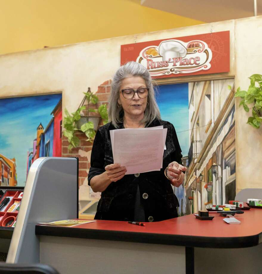 Executive Director Angela Colton, unveils a new permanent exhibit at the Children's Museum in the Woodlands, on Saturday, Jan. 25, 2020. The exhibit was funding from grants through Nordstrom Charitable Giving and Junior League of the Woodlands, as well as gifts from the Martineau Family and the Riser Family Foundation. Photo: Gustavo Huerta, Houston Chronicle / Staff Photographer / Houston Chronicle © 2020