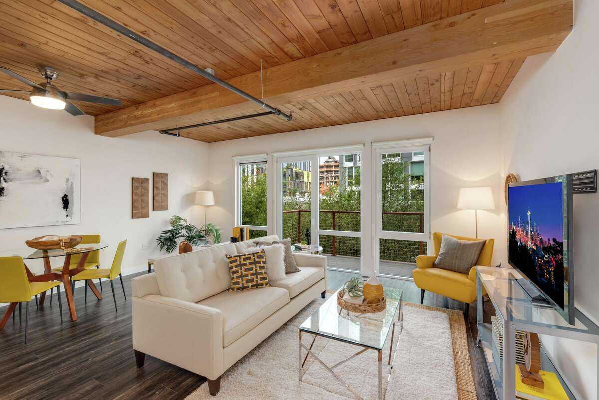 In a perfect South Lake Union location, this loft-like condo offers unique charm, and asks $480K