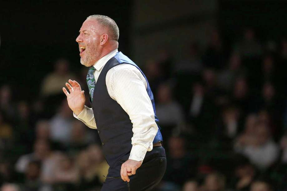 Texas A&M coach Buzz Williams was frustrated Saturday by his team's defensive effort as the Aggies lost their third straight home game. Photo: Mark Humphrey, STF / Associated Press / Copyright 2020 The Associated Press. All rights reserved
