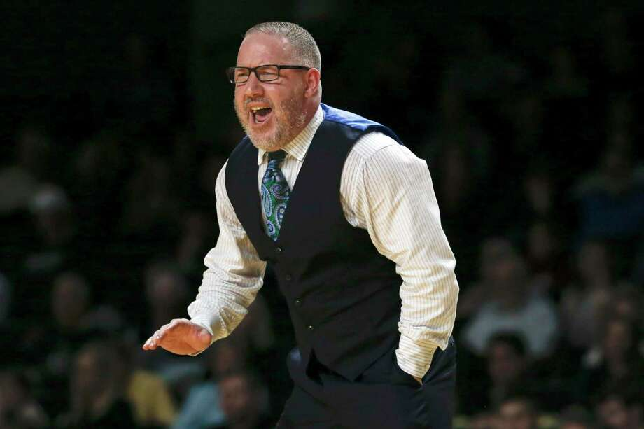 Texas A&M coach Buzz Williams was frustrated by his team's defensive performance Saturday as the Aggies lost their third-straight home game. Photo: Mark Humphrey /Associated Press / Copyright 2020 The Associated Press. All rights reserved