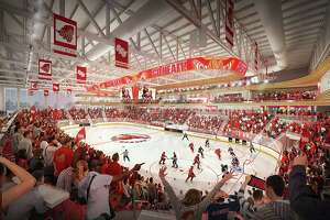 Sacred Heart University hockey rink rendering