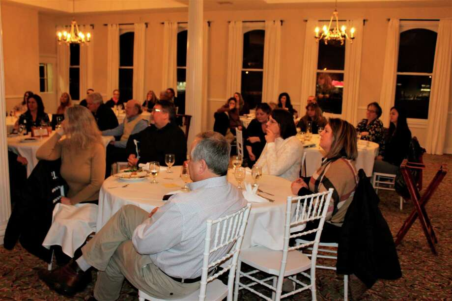 About 40 area business leaders gathered Thursday at the Blue Fish Kitchen and Bar for a discussion about the impact of Substance Use Disorder on businesses.(Courtesy photo)