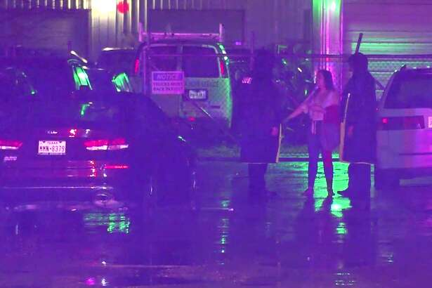 A man is now recovering in the hospital after investigators say that his wife struck him with her car, and then pinned him between two vehicles in northwest Harris County.