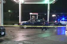 A man was fatally shot Saturday night at a convenience store in northwest Houston, authorities said.