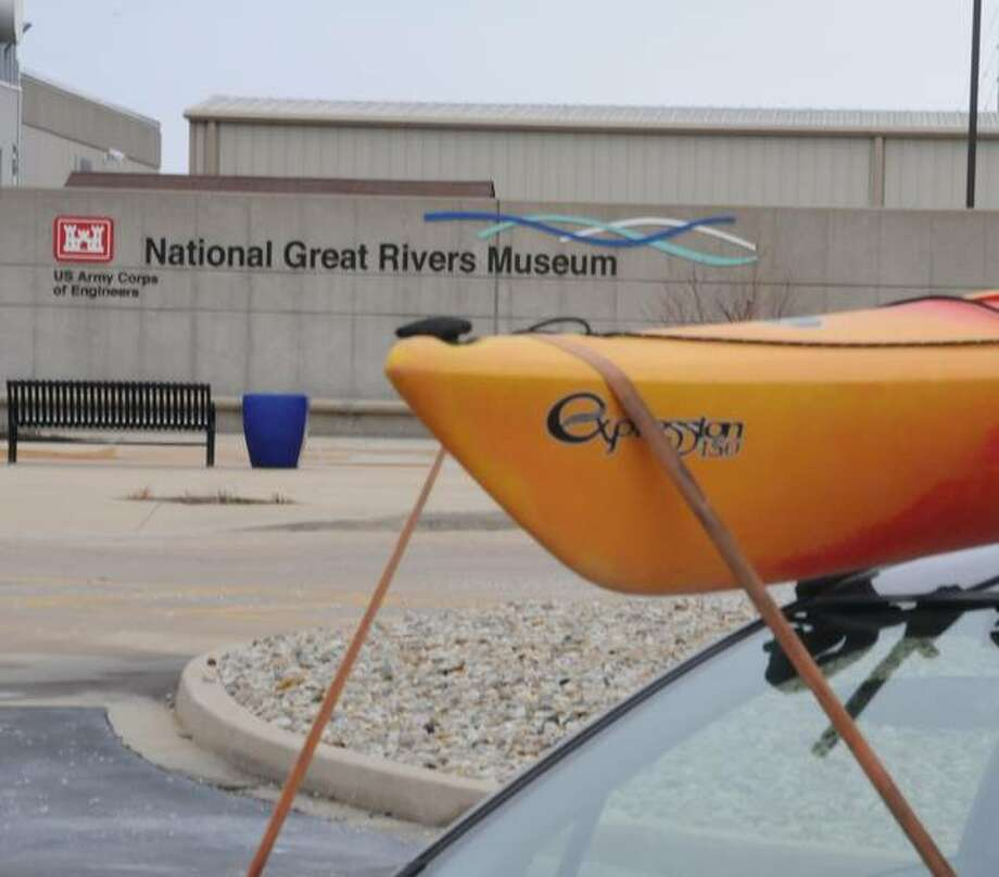 The dedication of long-distance canoe paddling program participants was evident by what was strapped to many vehicles in the venue's parking lot Saturday at the National Great Rivers Museum.