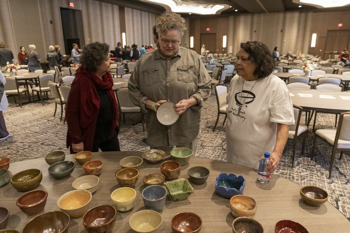 Scenes from Empty Bowls 2020 on Sunday, Jan. 26, 2020 at the Odessa Marriott Hotel and Convention Center. Jacy Lewis/Reporter-Telegram