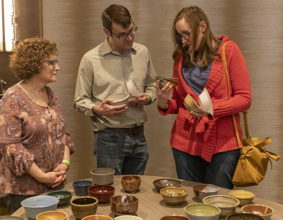 Scenes from Empty Bowls 2020 on Sunday, Jan. 26, 2020 at the Odessa Marriott Hotel and Convention Center. Jacy Lewis/Reporter-Telegram Photo: Jacy Lewis/Reporter-Telegram