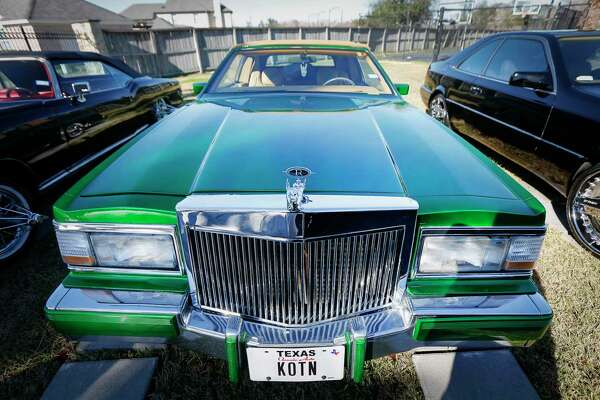 Rapper Slim Thug has a rare car collection like this 1982 Buick Rivera Friday, Jan. 24, 2020, in Pearland.