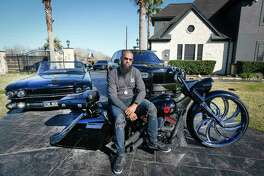 Rapper Slim Thug has a rare car and motorcycle collection Friday, Jan. 24, 2020, in Pearland.