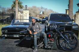 Rapper Slim Thug has a rare car collection Friday, Jan. 24, 2020, in Pearland.