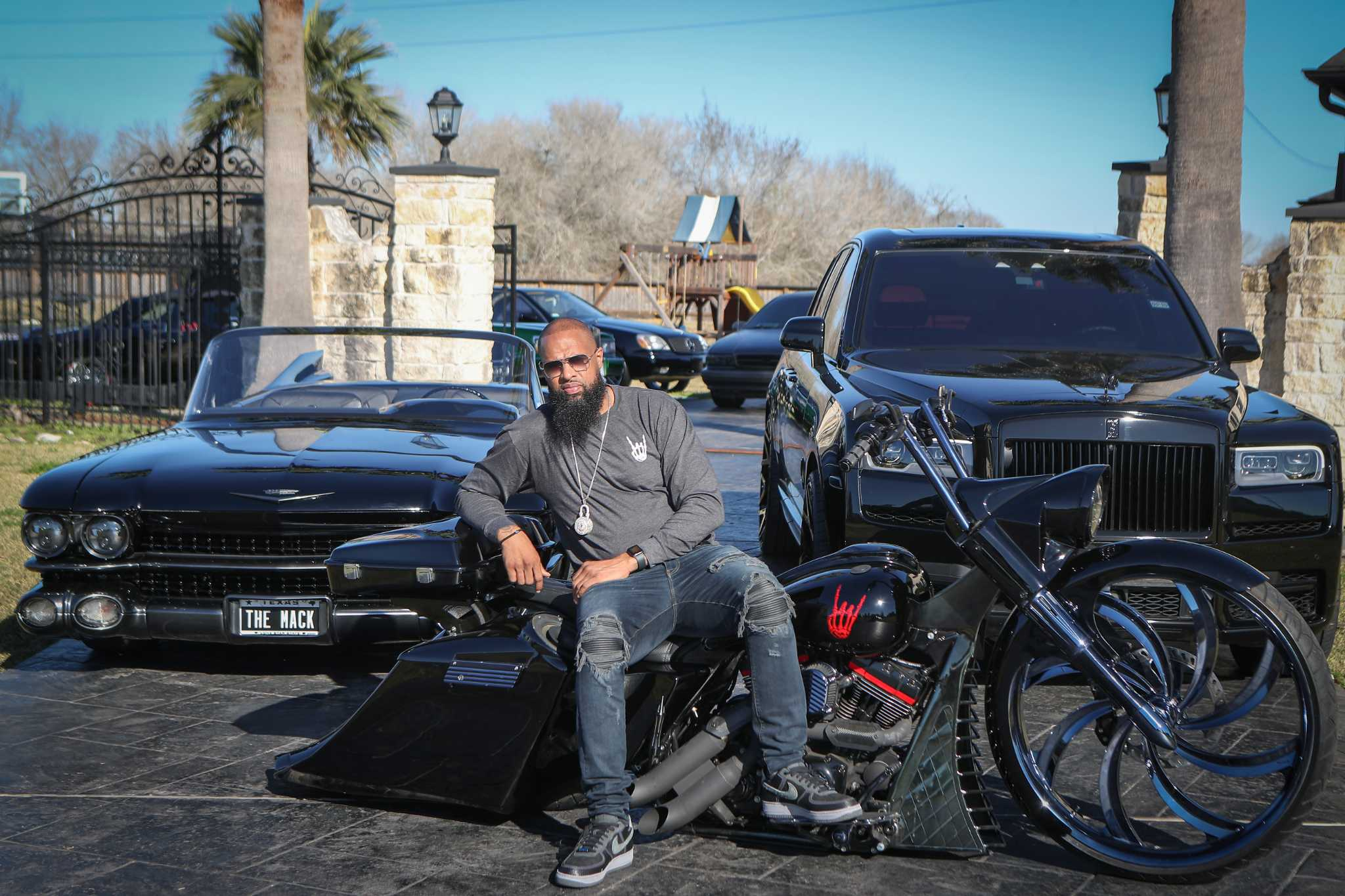 Take a look at Houston rapper Slim Thug's $1M car collection