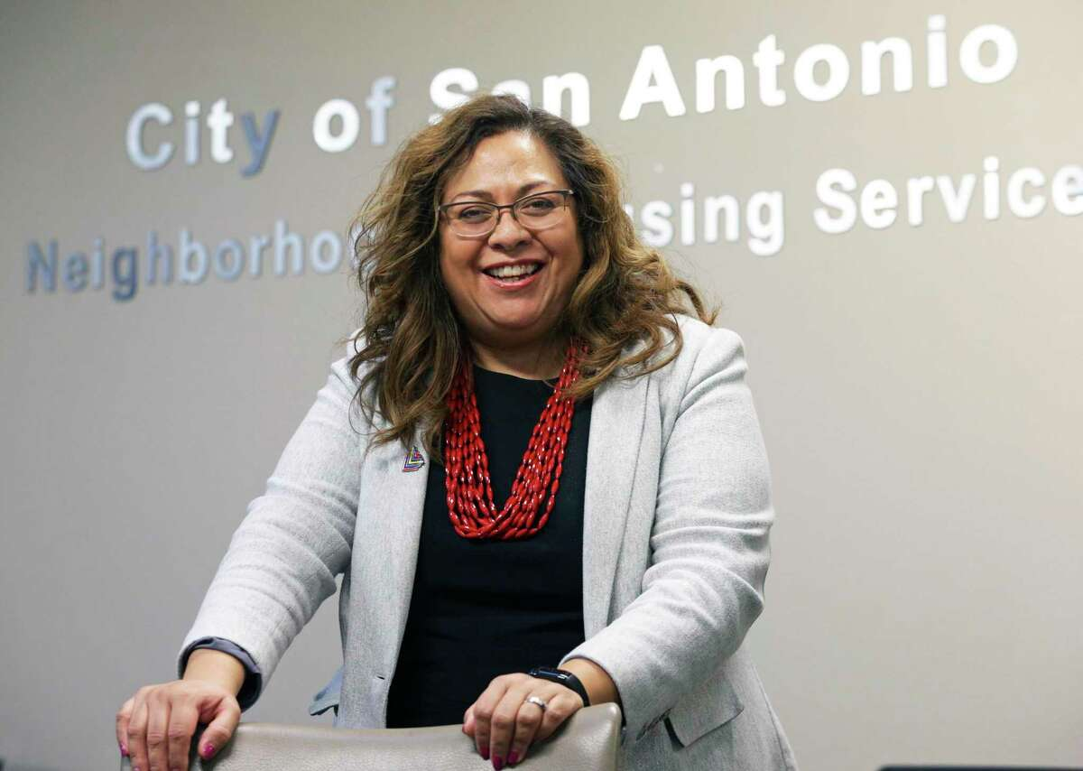 Veronica Soto, director of the city's Neighborhood and Housing Services Department, Veronica Soto, director of the Housing and Neighborhood Services Department for the City of San Antonio on Jan.17, 2020.