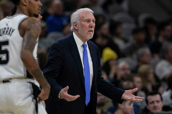 Gregg Popovich, 71, knows he is statistically vulnerable to the coronavirus. Still, he'll join the Spurs at Disney World.